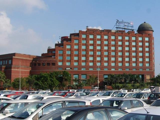 Radisson Blu MBD Hotel Noida is sold out during Auto Expo.