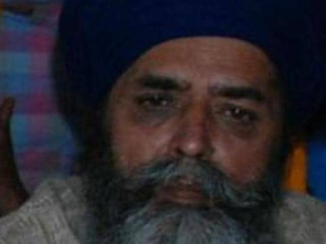 United Akali Dal president Mohkam Singh