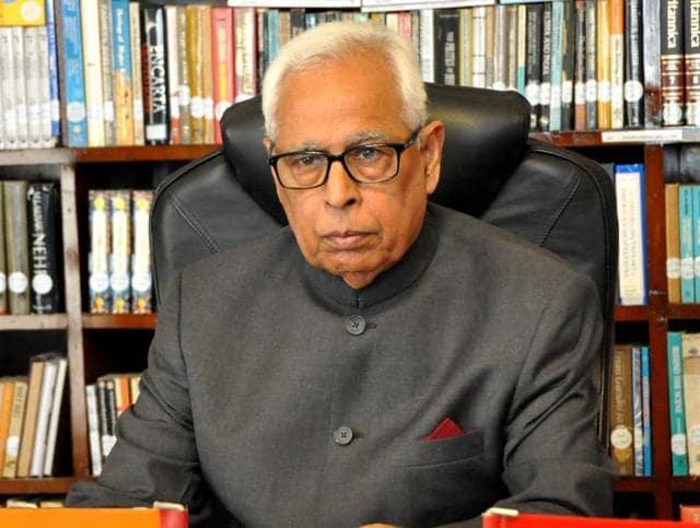 Jammu and Kashmir governor NN Vohra.