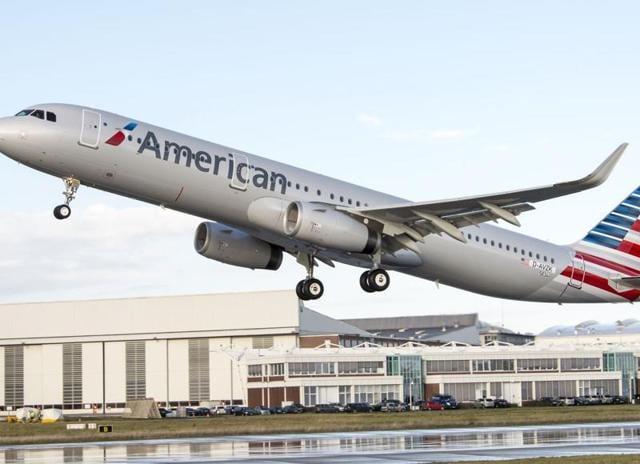 American Airlines,UK,LA
