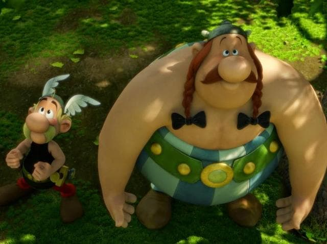 As usual, Asterix and Obelix aren't going to make life easy for the Romans.
