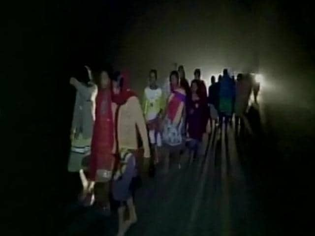 73 students of a school in Mayurbhanj district of Odisha walked 30 kilometres on Thursday to convey their grievance against the newly appointed matron of the hostel.