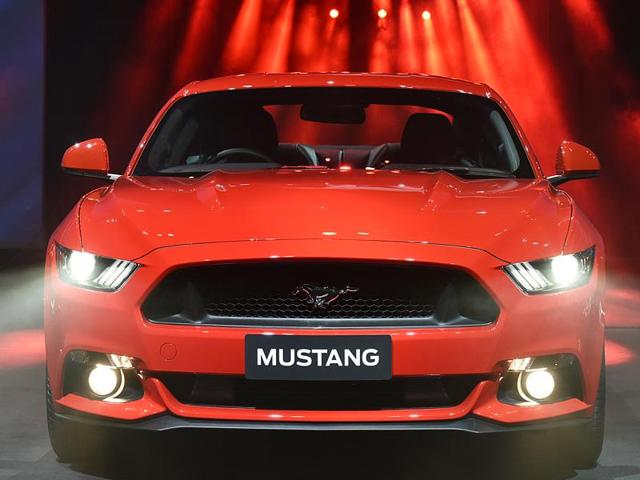 How An Indian Indianised The All American Muscle Ford Mustang