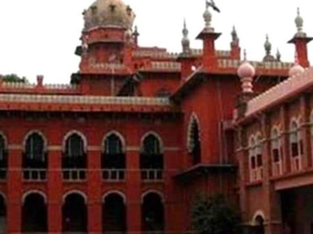 A file photo of Madras high court. The court allowed 24 students, detained by police, to attend the funeral of one of the three girl students, who committed suicide last week in Villupuram. (Photo: PTI)