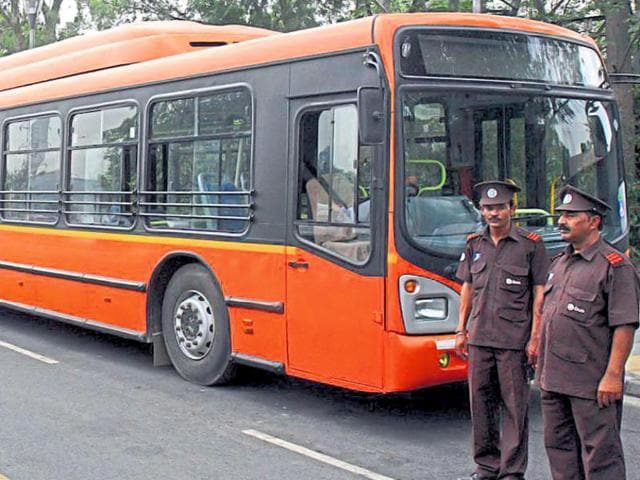 Private operators run 1,300 buses under the DTC cluster scheme.