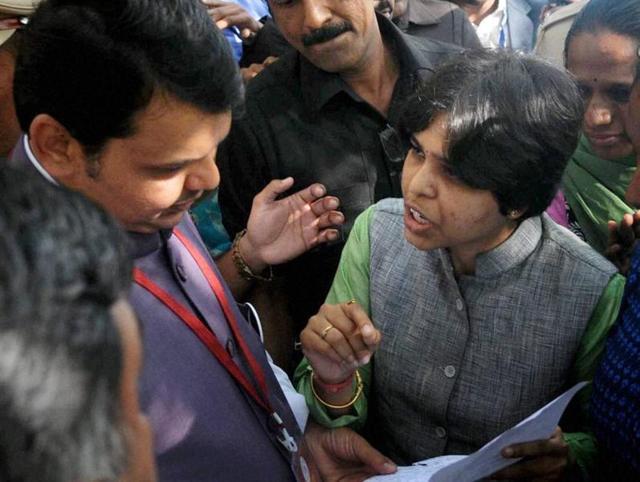 Activist Trupti Desai had met Maharashtra chief minister Devendra Fadnavis to press for their demand of women's entry to Shani Shingnapur temple.
