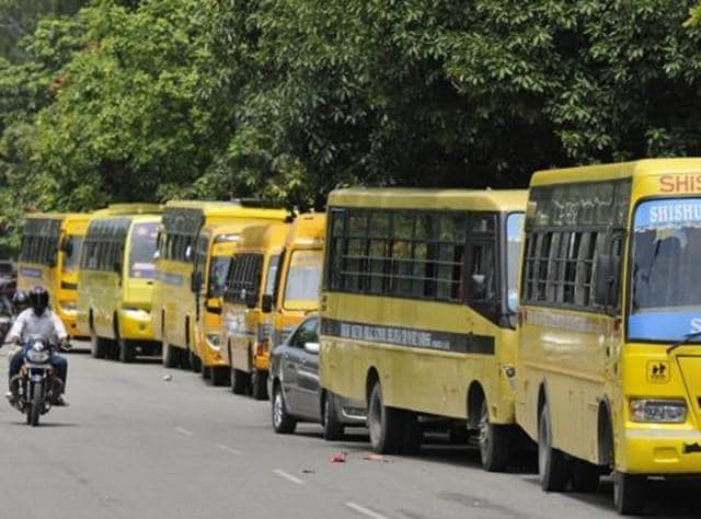 Punjab and Haryana high court,Chandigarh Child Rights Protection Commission,school buses