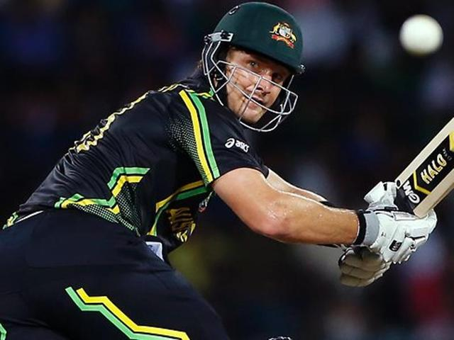Shane Watson will lead Australia in the third and final T20 against India on Sunday.