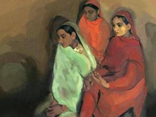 Amrita Sher-Gil,Google Doodle,Three Girls