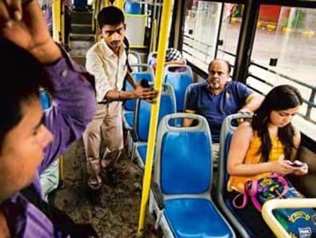 Sexual harassment in public transport