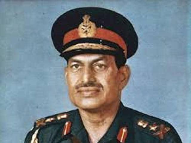 Former Army chief