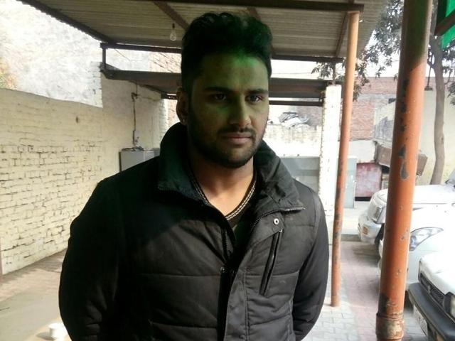Victim Varun Jain of Patiala