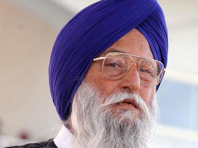 Akali candidate Ravinder Singh Brahmpura.