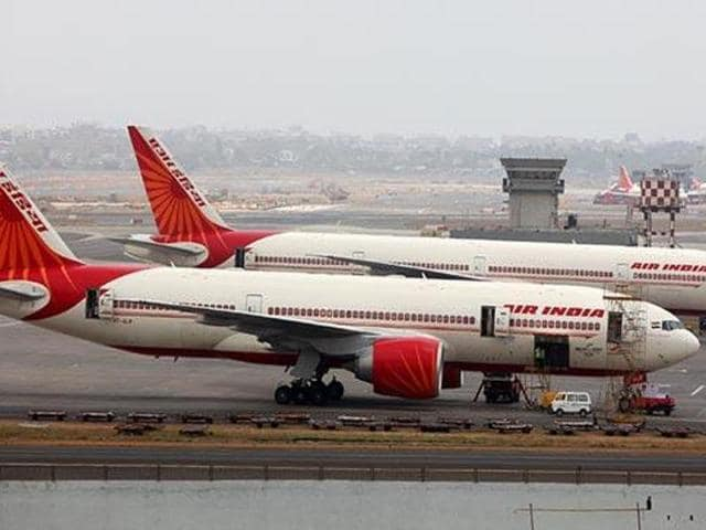 A differently-abled woman flyer has alleged she had to 'crawl' to the passenger coach after deboarding an Air India plane. (Sattish Bate/HT File Photo)