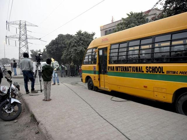 The boy, a Class 1 student at Ryan International school in Vasant Kunj, was found unconscious. The school authorities took him to a hospital where he was declared brought dead.