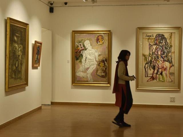 Art,Modern Indian art,Modernists
