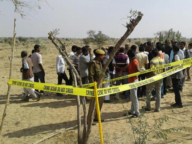 Balloon shot down in Barmer
