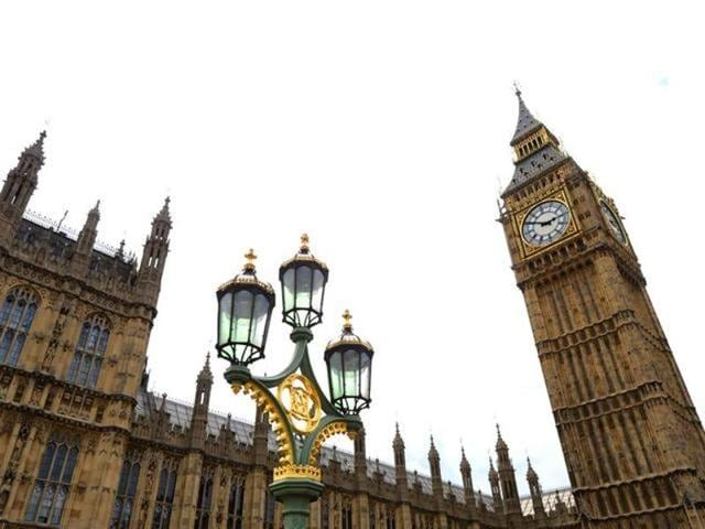 Behind the neo-Gothic splendour of Big Ben, Britain's Houses of Parliament is crumbling and overrun with mice, prompting its top official to warn it may have to be 'abandoned' without urgent renovations.