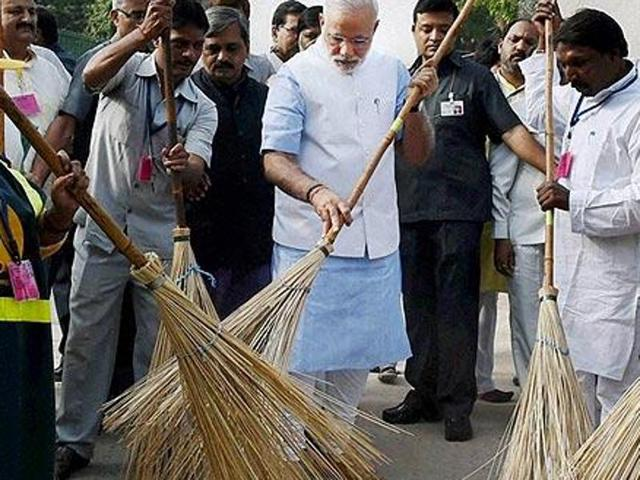 Swachh Bharat Abhiyaan was launched by Prime Minister Narendra Modi a year ago, but there seems to be no noticeable improvement in sanitation.