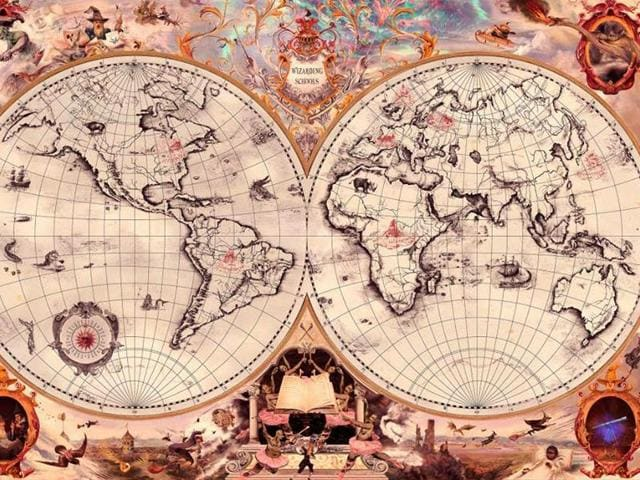 As seen on a map shared on Rowling's Facebook page, the wizarding school in North America is called Ilvermorny and is located on the north-eastern part of North America.
