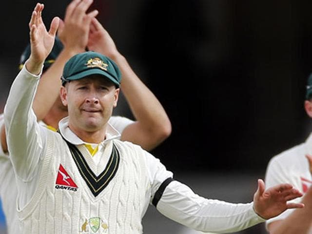 Michael Clarke retired in August 2015 after Australia's disastrous showing in The Ashes series.