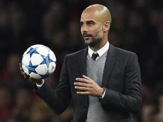 Pep Guardiola has signed a three-year contract to take over as Manchester City's manager in July 2016.