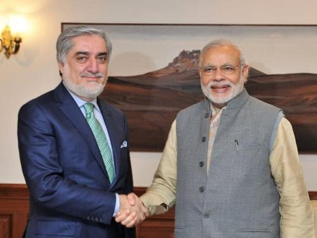 Abdullah Abdullah,Narendra Modi,visa