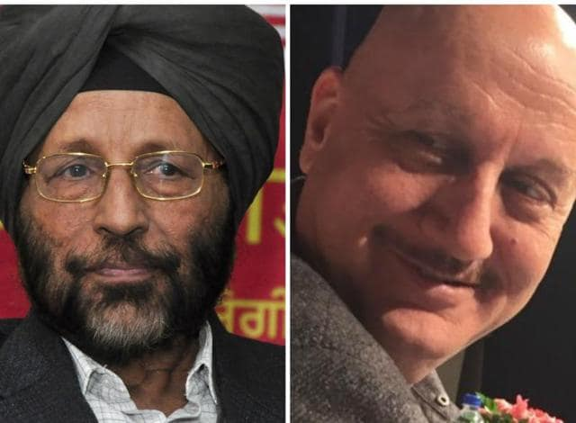 Gurbachan Singh Bhullar, the first Punjabi author to return his Sahitya Akademi award to protest the assassination of Kannada scholar MM Kalburgi, flayed actor Anupam Kher who was recently picked for the Padma Bhushan.
