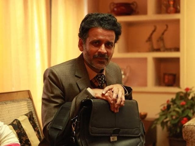 Manoj Bajpayee plays a professor who loses his job because of his sexual orientation.