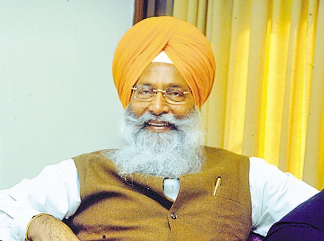 SAD secretary general and Rajya Sabha member Sukhdev Singh Dhindsa.