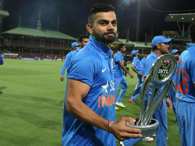 Virat Kohli, and the likes of Shikhar Dhawan and Rohit Sharma, are among the fittest, most athletic members of Team India.