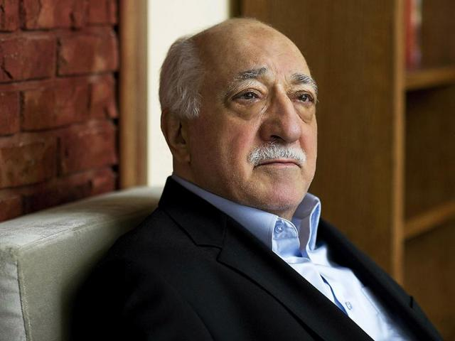 In this file photo, Turkish Islamic preacher Fethullah Gulen is pictured at his residence in Saylorsburg.