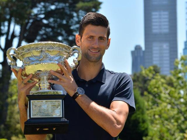 Novak Djokovic has six Australian Open titles, three Wimbledon titles and two US Open titles, but the French Open is a trophy he is yet to possess.