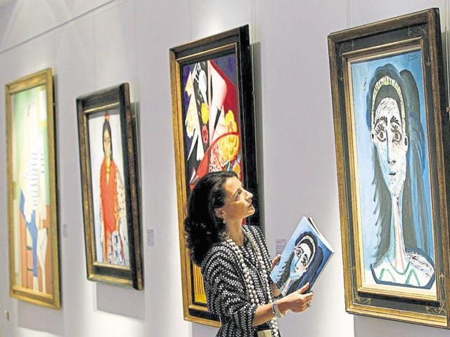 A Christie's arthouse. Its India revenue grew by 20% in 2015 over the previous year.