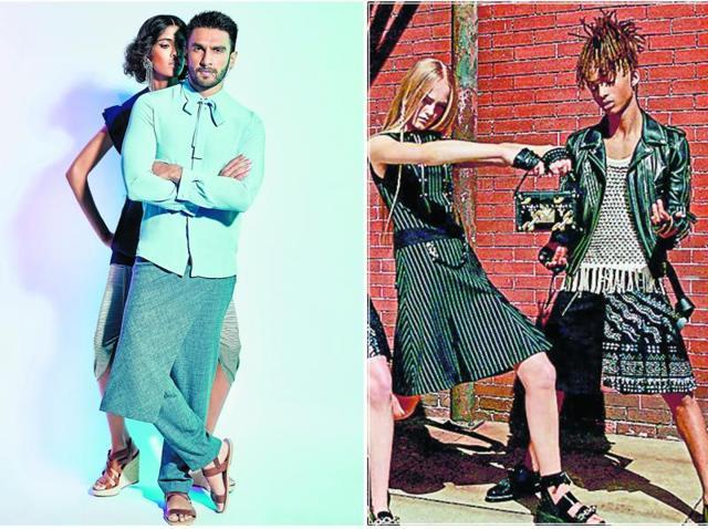 Skirts,Fashion,Ranveer Singh