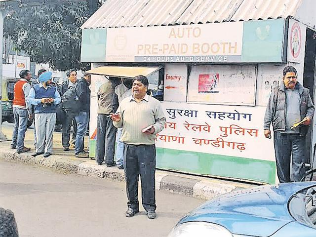 Chandigarh,government railway police,Manjeet Kumar