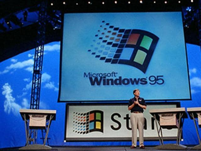 Microsoft,Windows 95,start button