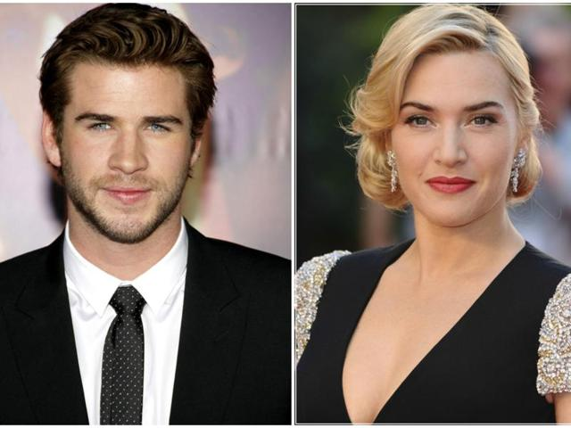 Kate Winslet's daughter is crushing on Liam Hemsworth real hard.