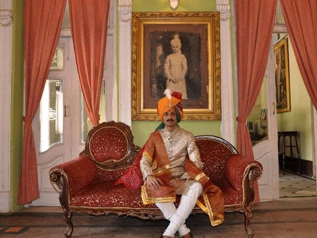 Gohil is the crown prince of erstwhile princely state Rajpipla in Gujarat.