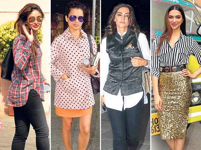 Buttondown,Shirts,Deepika Padukone
