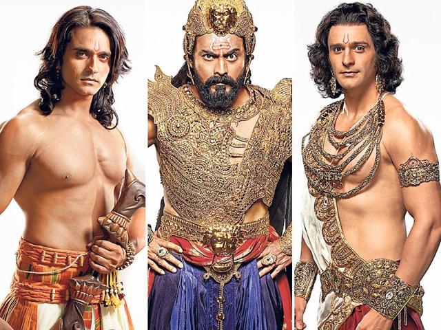 Ram, Lakshman  and even Raavan in Siya Ke Ram: Mythological heroes rule the small screen with elan.