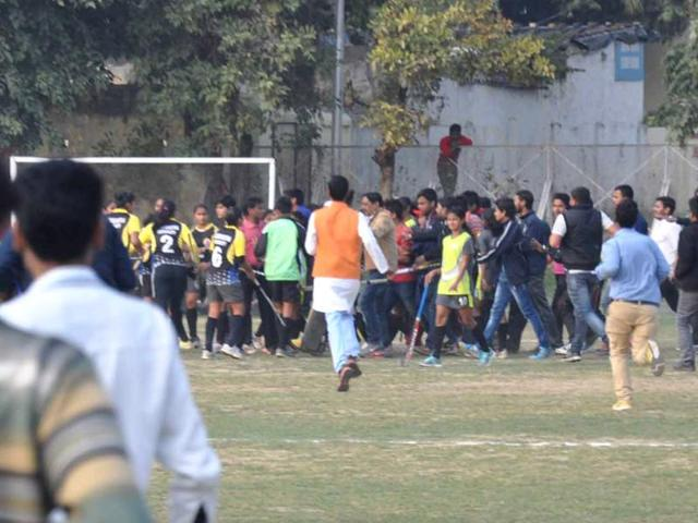 Women's hockey match ends in melee at Lucknow University