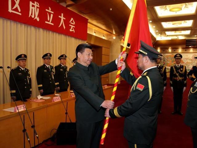 China,New military zones,Xi Jinping