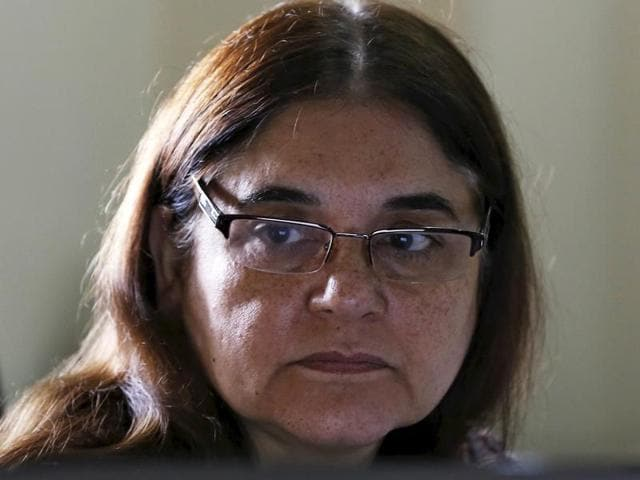 Women and child development minister Maneka Gandhi has called for mandatory tests to determine the sex of an unborn child in a bid to counter high levels of female foeticide.