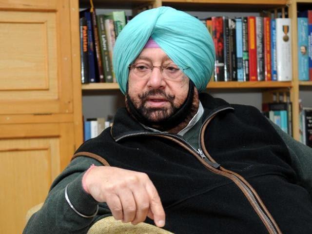 Capt Amarinder Singh.