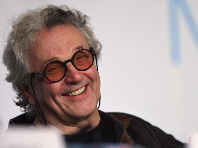 This file photo taken on May 14, 2015 shows Australian director George Miller smiling during a press conference for the film Mad Max : Fury Road during the 68th Cannes Film Festival in Cannes. Mad Max creator George Miller will head the jury at this year's Cannes film festival, its organisers said on February 2, 2015, the first Australian ever to preside over the world's top film event.