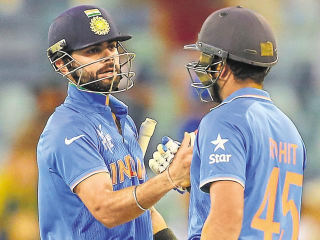 Virat Kohli and Rohit Sharma gave India solid starts throughout the ODI and T20I series.