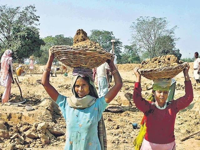In a statement released ahead of the rural job guarantee scheme completing ten years, the Centre counted how over 70% of the Rs 3,13,845 crore spent on the scheme in the last 10 years had gone as wages to the rural poor.