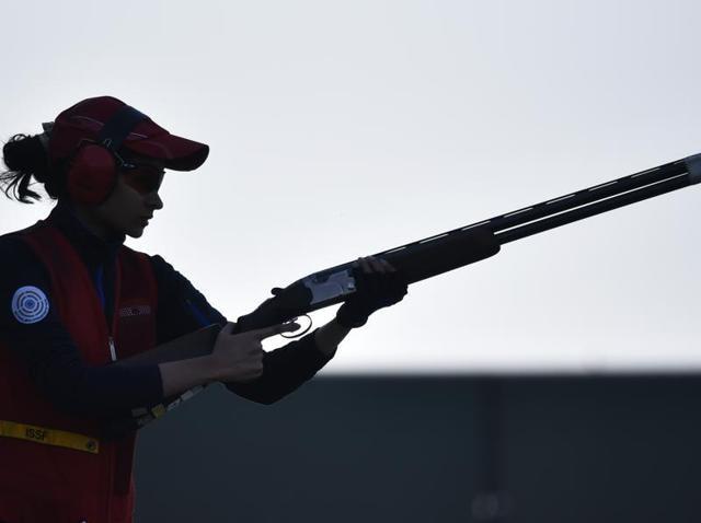 2016 Rio Olympics,National Rifle Association of India (NRAI),double trap
