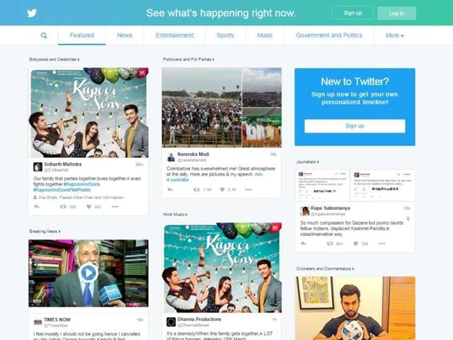The feature for non-members on Twitter was already available to visitors of the site in US and Japan. Now, 22 other countries besides India can visit the site in its refreshed avatar.
